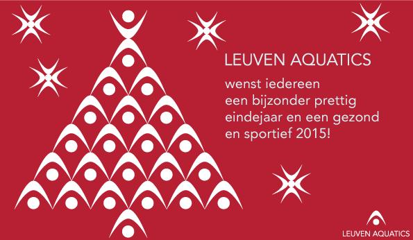 Beste wensen van Leuven Aquatics!