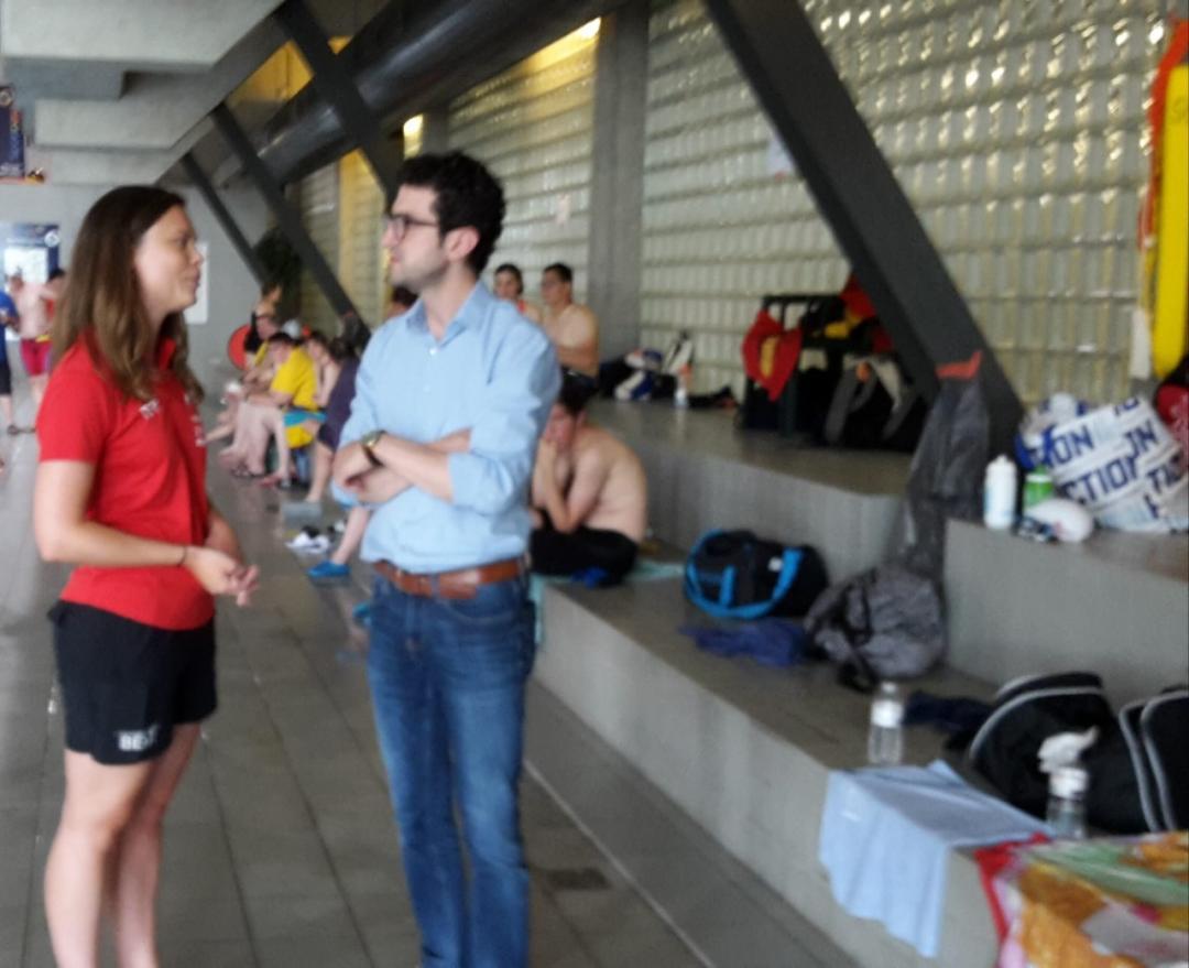 Geslaagde eerste G-wedstrijd voor Leuven Aquatics! Ook burgemeester Ridouani kwam langs!