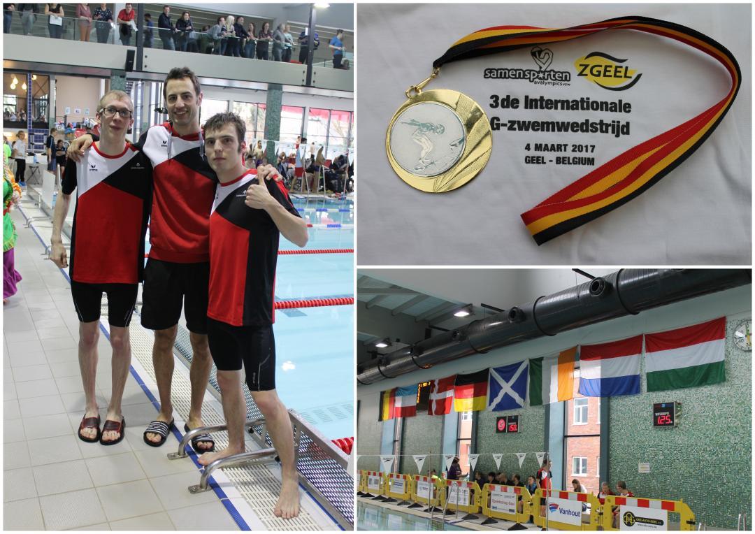 G-zwemwedstrijd Geel 4 maart 2017