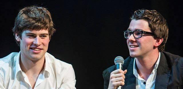 Cortens en Hendrickx samen op de Leuvense kampioenenviering 2015